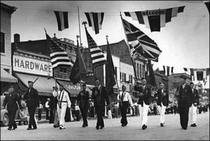 Credit: Minnpost.com 1940 International Falls Labor Day Parade
