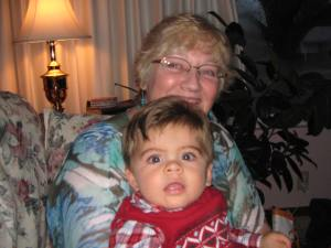 My first Christmas with my first step-grandson