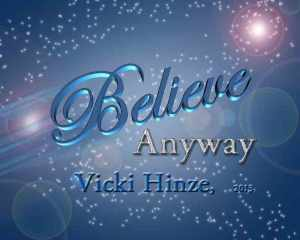 vicki hinze, believe, christians read,