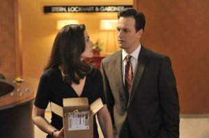 These characters won't have a chance at love thanks to writers. The Good Wife, courtesy CBS