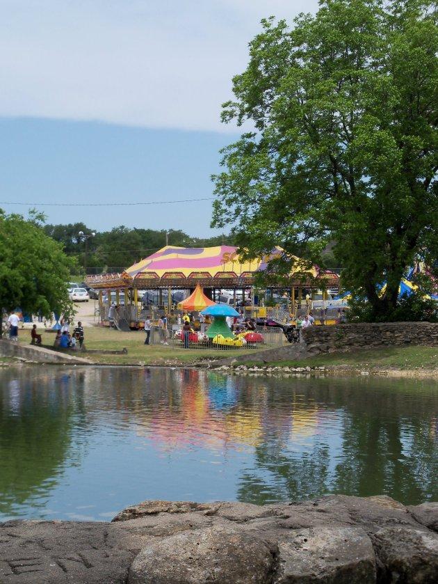 City Park Pond, without a drought