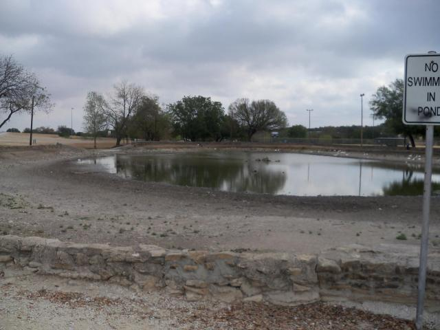 City Park, September 2011, during the drought
