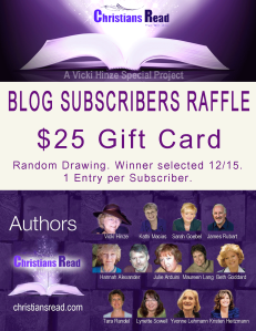 Christians Read Raffle, Subscribers