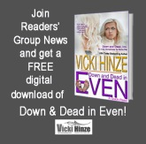 VICKI hinze, reader group news online community