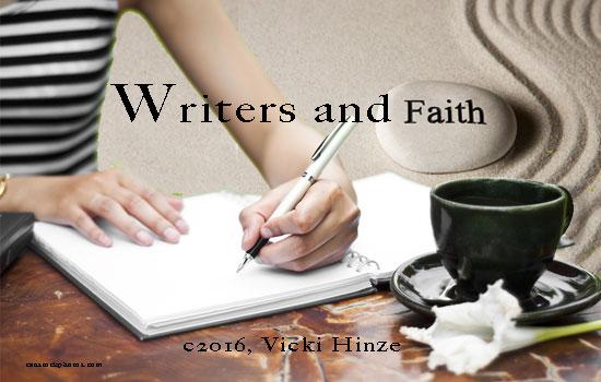 Writers and Faith, Vicki Hinze