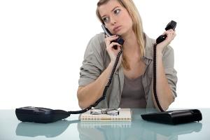 Telephone operator