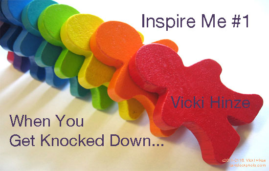 Vicki Hinze, Inspire Me #1, When You Get Knocked Down