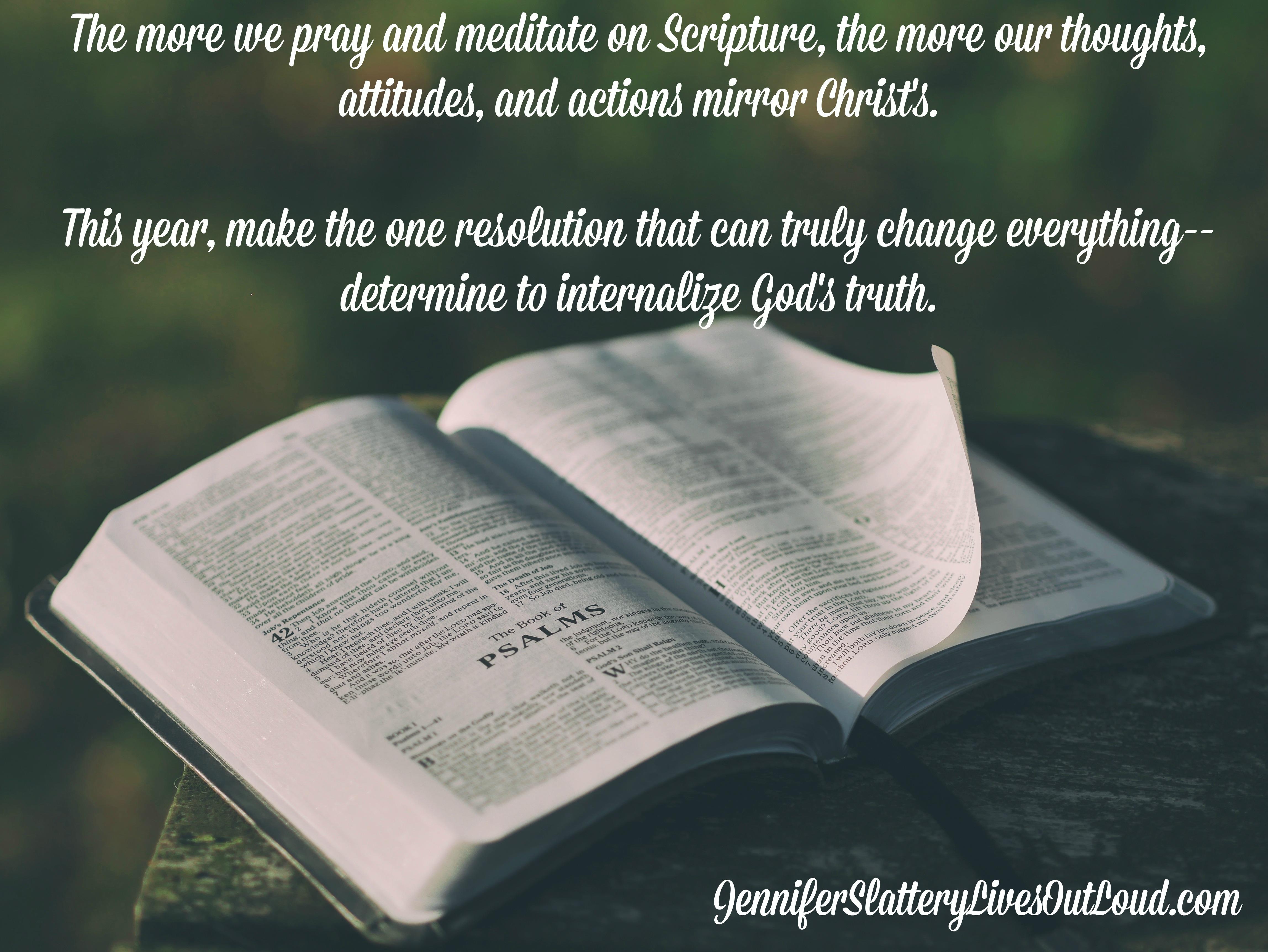 Better Than New Year\'s Resolutions - Jennifer Slattery Christian Blog