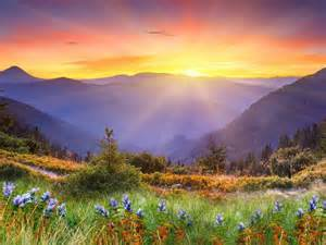 sunrise-over-the-mountains