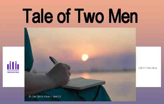 Tale of Two Men, Vicki Hinze