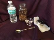 9 Add distilled water