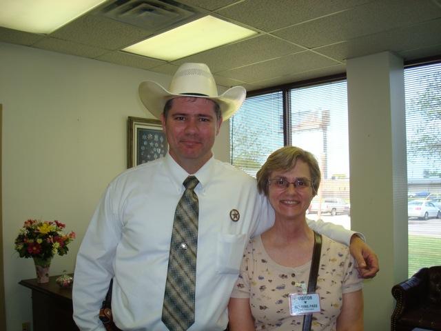 Texas Ranger and Margaret