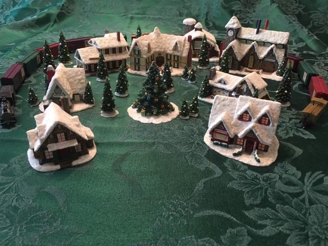 Christmas Train Village 2
