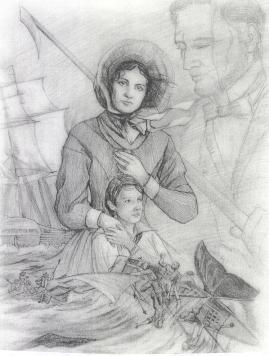 Ahab's Bride Heidi's Drawing