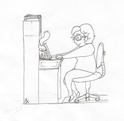 Louise Cartoon