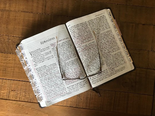 Bible and glasses 2