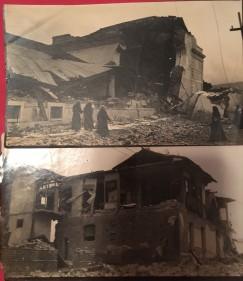Earthquake damage Central America