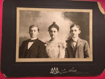 Grandmother Cain with her brothers