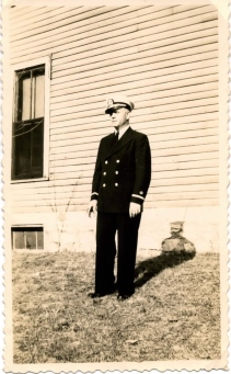 Bill Jacobs in Uniform 1944 - Copy