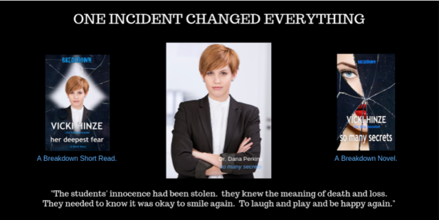 One incident changed everything, Vicki Hinze, christians read