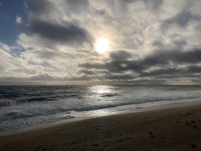 God's Majesty over Newport Beach