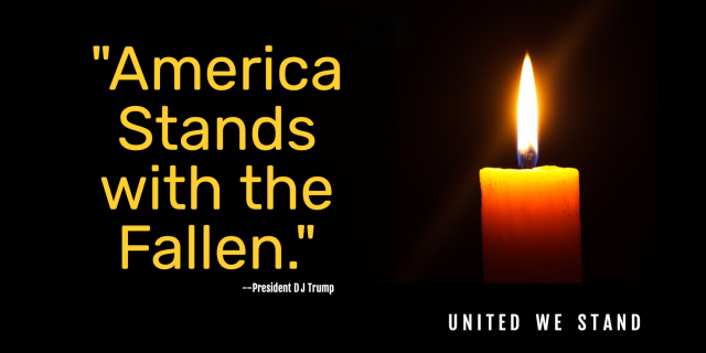 United We Stand, America Stands with the Fallen, Vicki Hinze, Christians Read