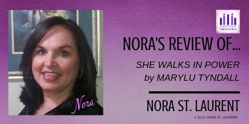 Nora St. Laurent, Review of She Walks in Power, Christians Read