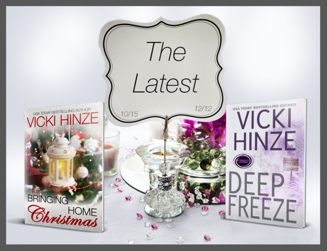 Vicki Hinze, Bringing Home Christmas , Deep Freeze, USA Today Bestselling Author