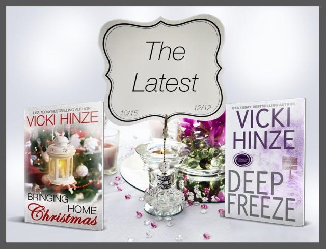 Vicki Hinze, Bringing Home Christmas , Deep Freeze, USA Today Bestselling Author
