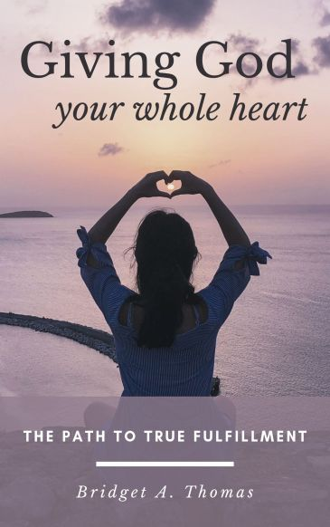 Cover Design - Giving God Your Whole Heart