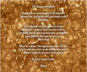 New Year Prayer 2021